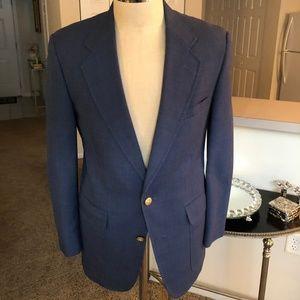 Hart Schaffner & Marx Blue Deconstructed Blazer